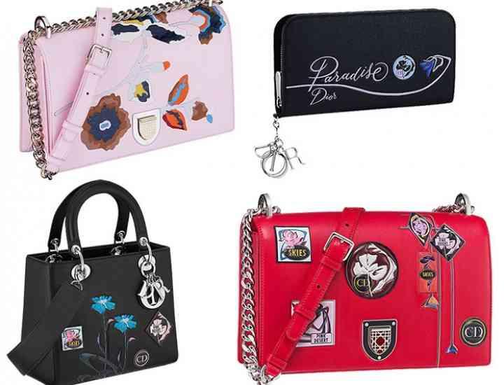 Dior a lansat colecția de genți, eșarfe și accesorii Dior Paradise