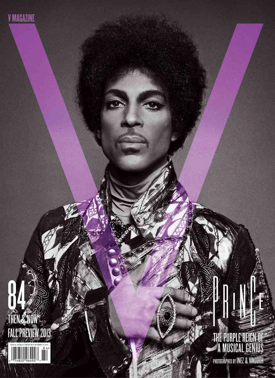Prince de Inez van Lamsweerde & Vinoodh Matadin - V Magazine