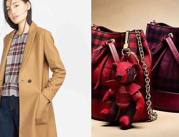 Articole vestimentare și accesorii în carouri pentru iarnă