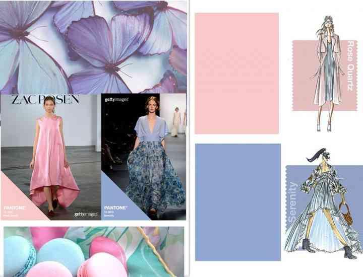 Culorile anului 2016 conform Pantone: Rose cuarț și Serenity
