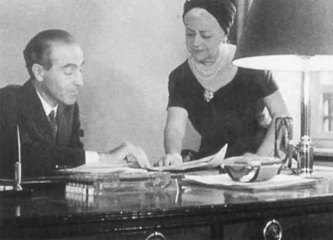 Nina Ricci și Robert Ricci