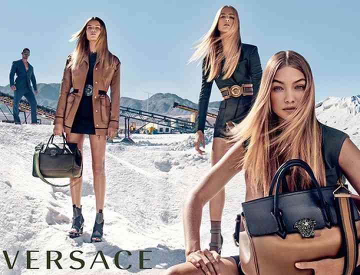 Campania Versace pentru primăvara 2016