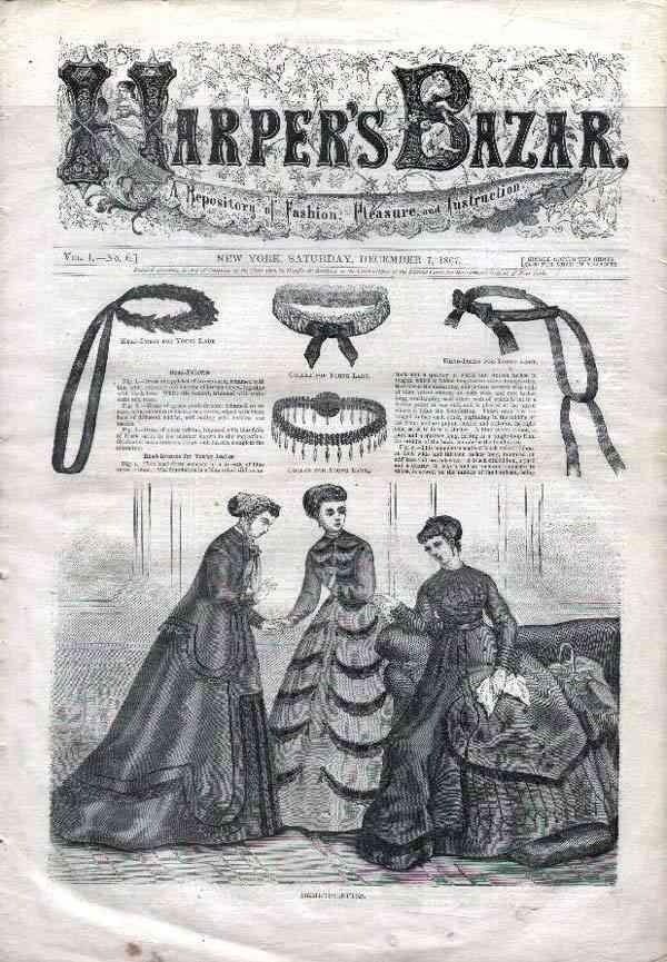 1884 Harper's Bazaar
