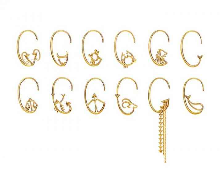 Louis Vuitton lansează o colecție de cercei inspirată din horoscop