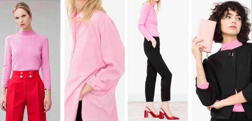 haine uterqüe roz