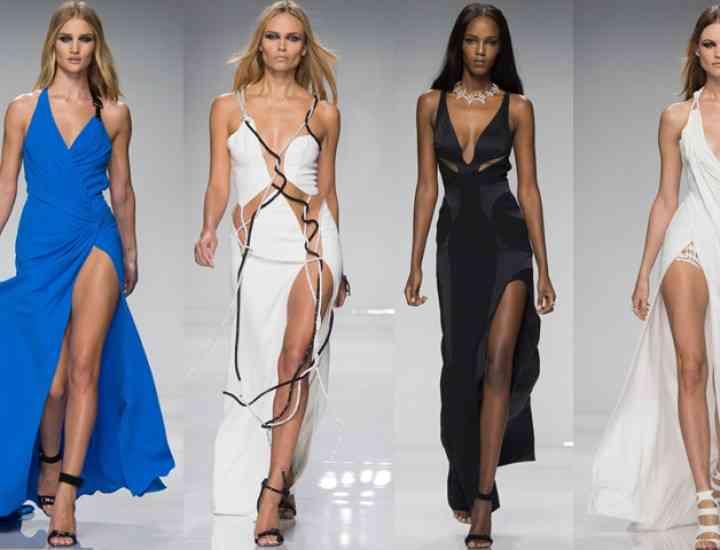 Haute Couture primăvară/vară 2016: Versace, Schiaparelli, Dior