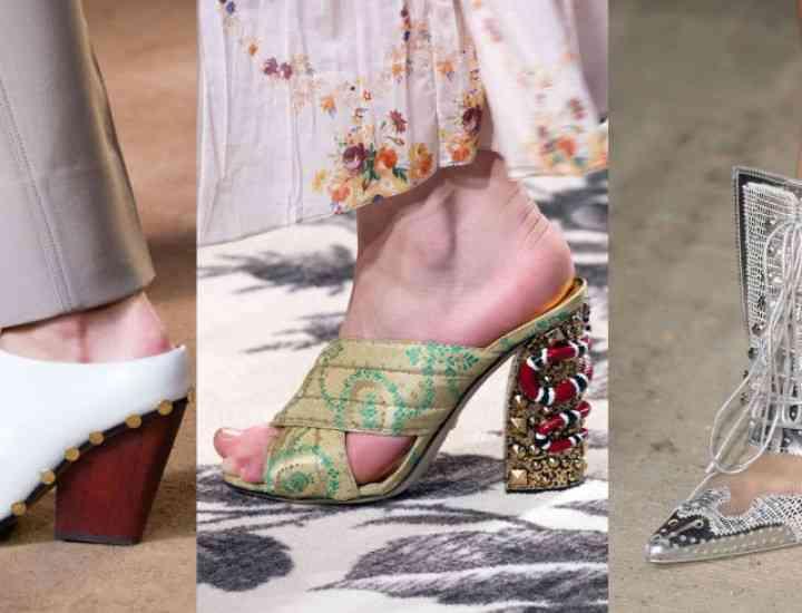 Pantofi la modă pentru primăvara/vara 2016