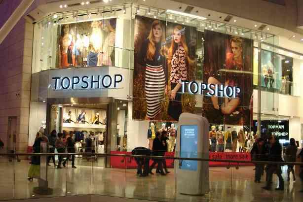 topshop brand