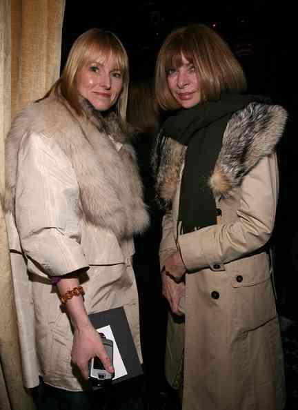 Amy Astley și Anna Wintour