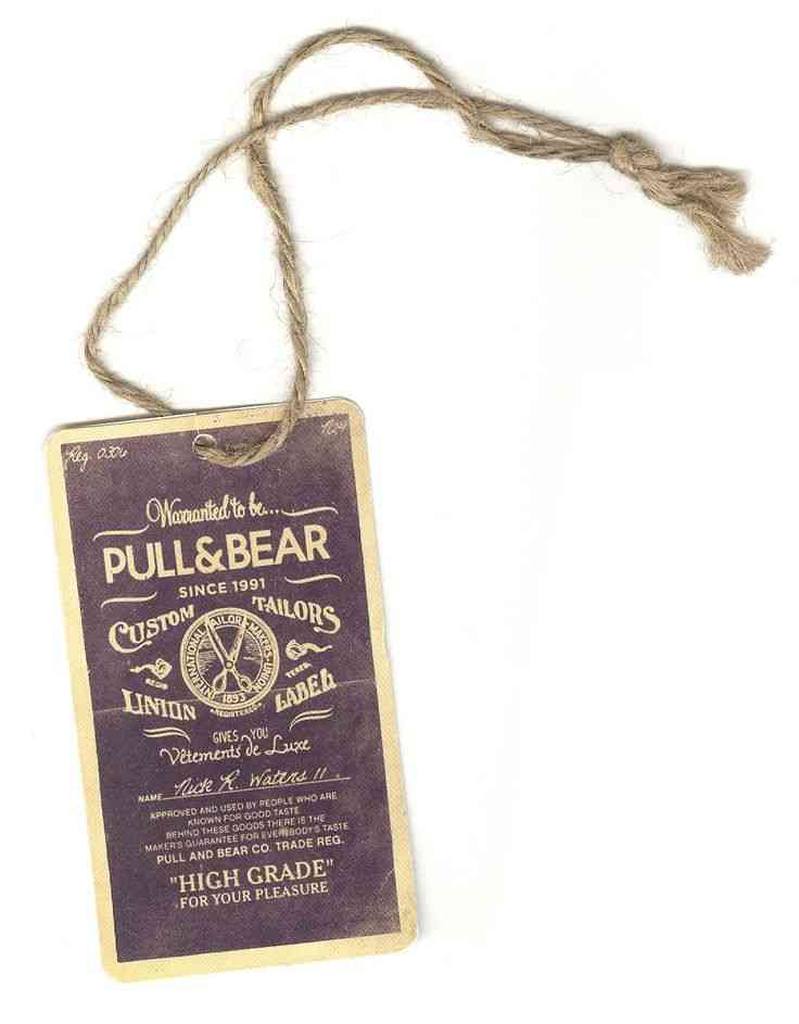 Pull & Bear eticheta