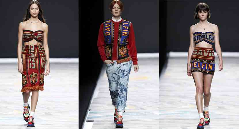 colectie  fashion david delfin