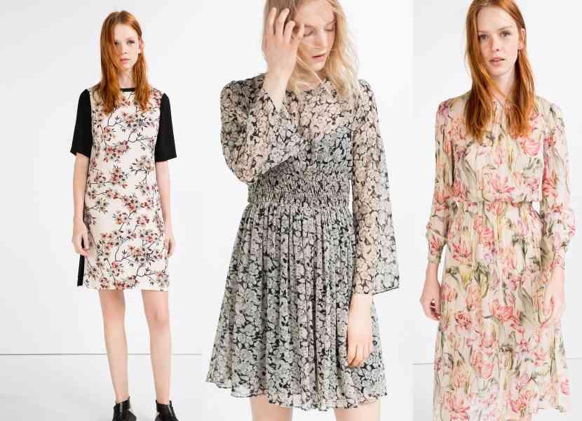 rochii cu imprimeu primvara 2016