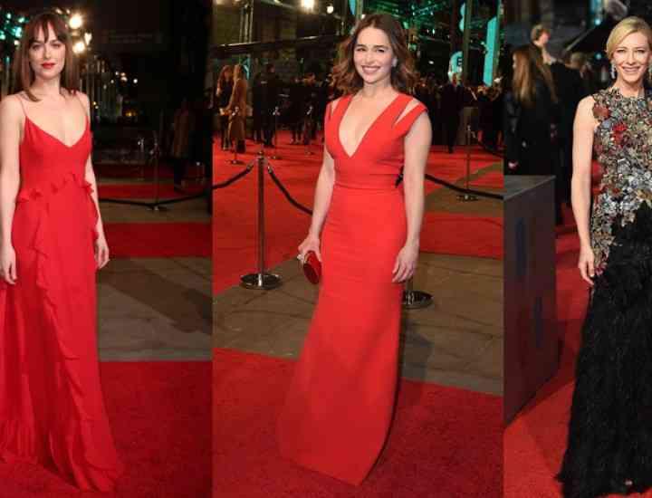 Ținute cu stil la Gala Premiilor Bafta 2016
