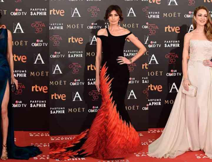 Premiile Goya 2016: ținutele celebrităților de pe covorul roșu