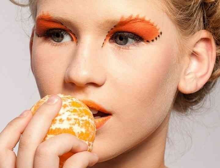 Tratamente faciale cu portocale