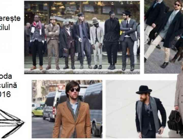 Moda masculină 2016
