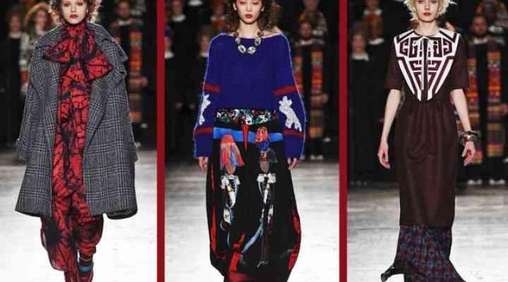 Colecția Stella Jean pentru toamna 2016 a fost un mix de culturi