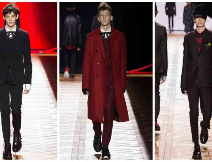 Colecția Dior Homme toamna/iarna 2016-2017