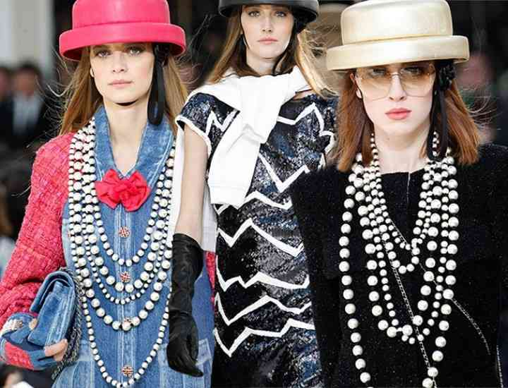 Vibrații retro în colecția Chanel toamna / iarna 2016-2017