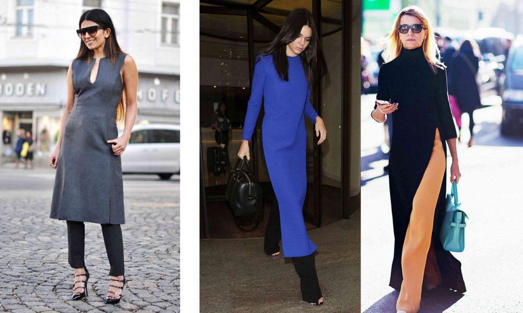 rochia peste pantaloni trend 2016