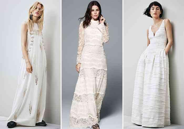 rochii de mireasa H&M