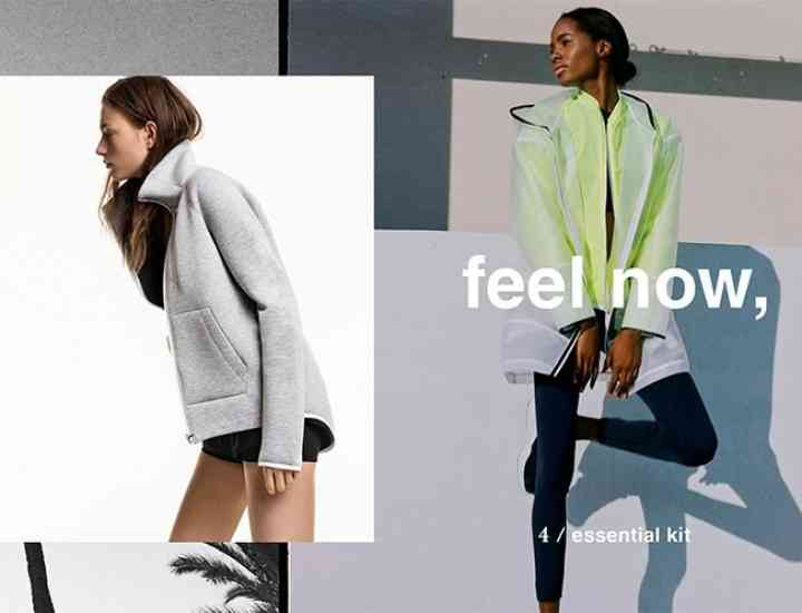 """Feel Good"" linia sport Zara 2016"
