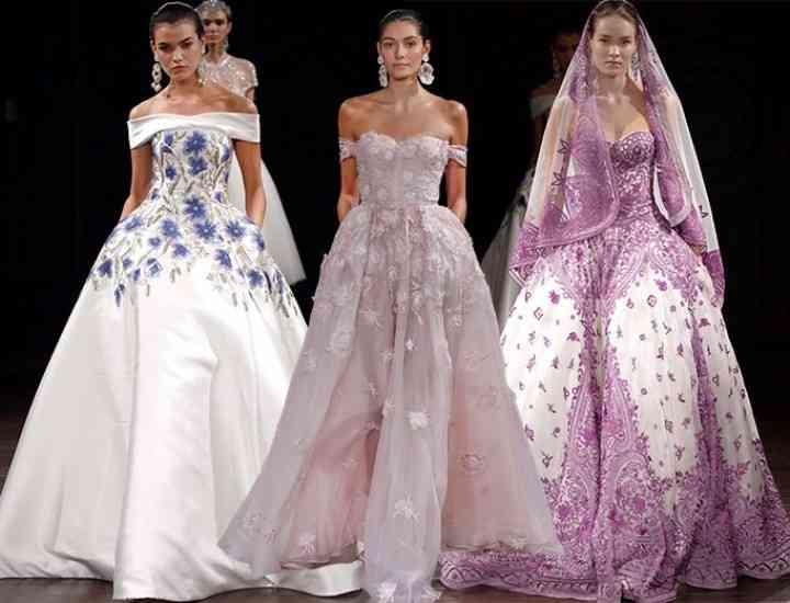 Colecția de rochii de mireasă Naeem Khan 2017