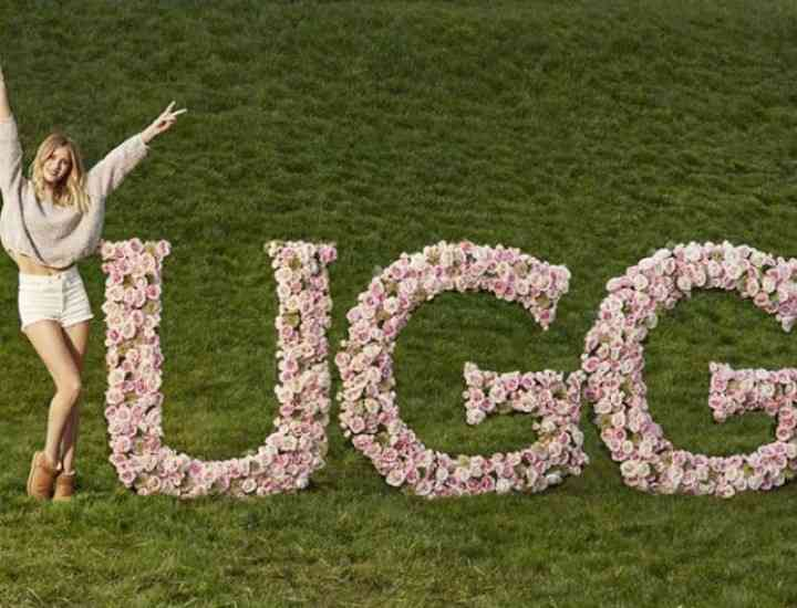 Ugg lansează o colecție cu Rosie Huntington-Whitely ca ambasador