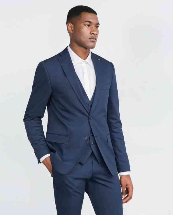 blazer albastru barbati 2016