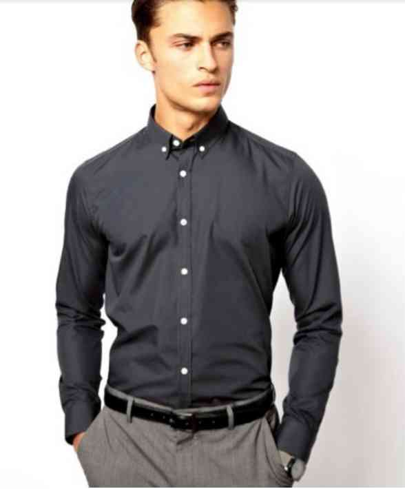 camasa neagra+pantaloni gri 2016