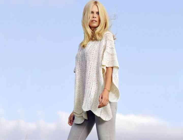 Claudia Schiffer lansează propria linie de haine din cașmir