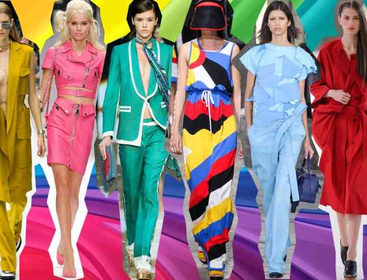 Top 5 cele mai trendy culori ale verii