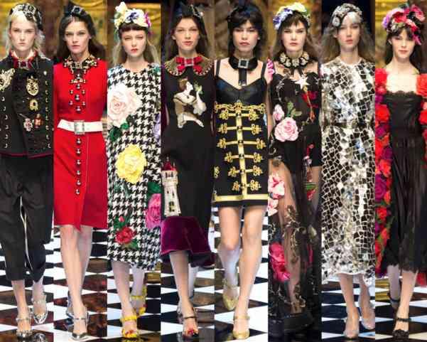 d&g milano fashion week