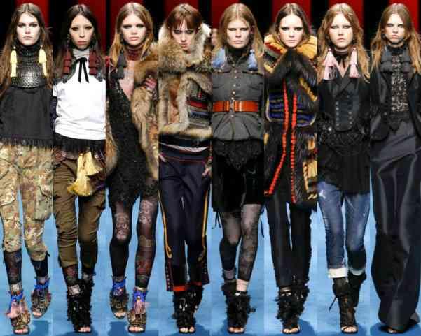 dsquared2 milano fashion week