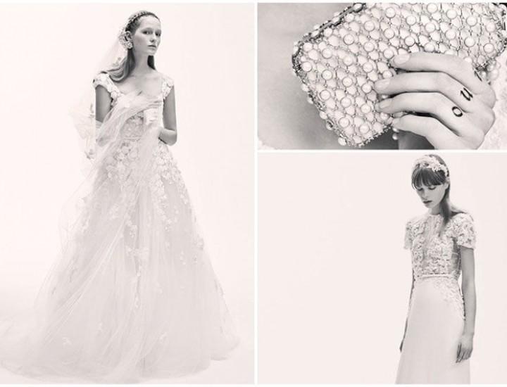 Elie Saab lansează o colecție fabuloasă de rochii de mireasă