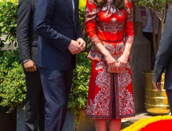 Kate Middleton în India