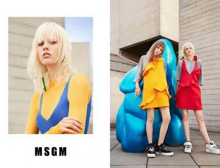 Campania MSGM de primăvară 2016