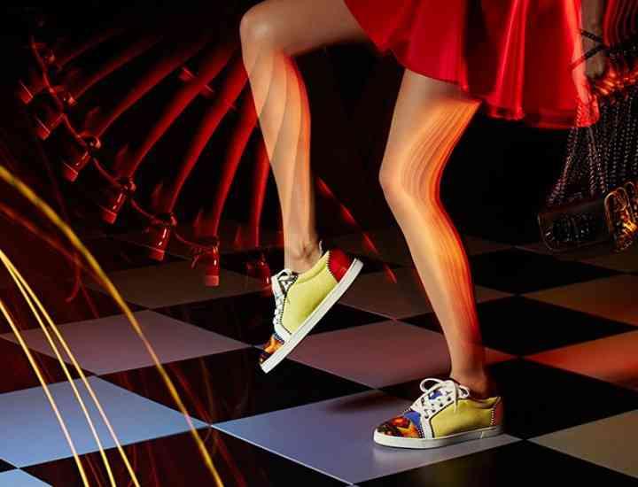 Christian Louboutin oferă o linie de pantofi confortabili pentru vara 2016