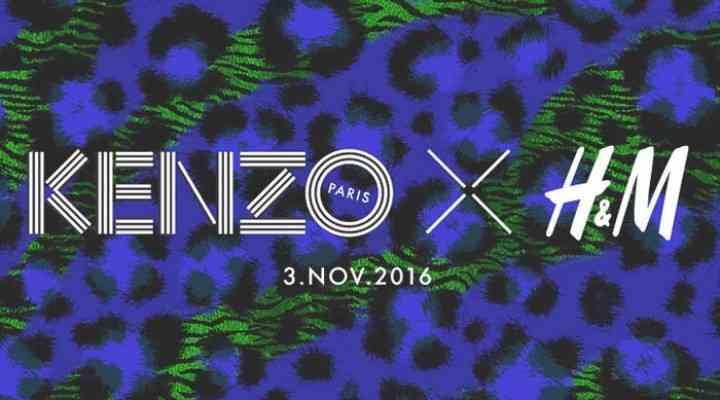 Kenzo x H & M lansează o colecție fabuloasă pentru toamna 2016