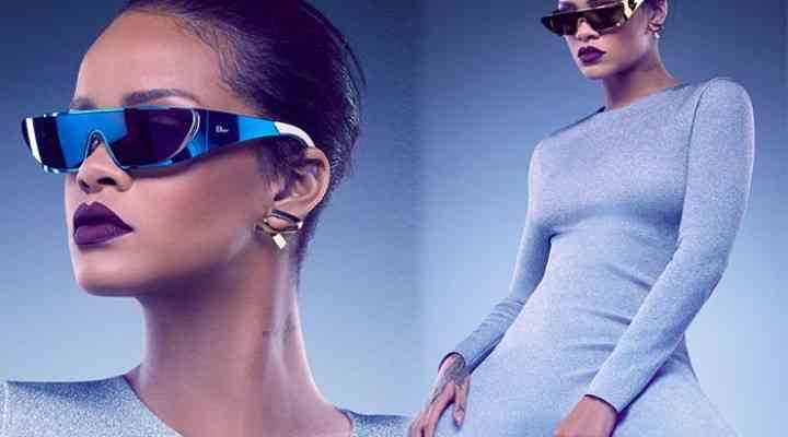 Rihanna x Dior lansează o colecție de ochelari de soare futuriști