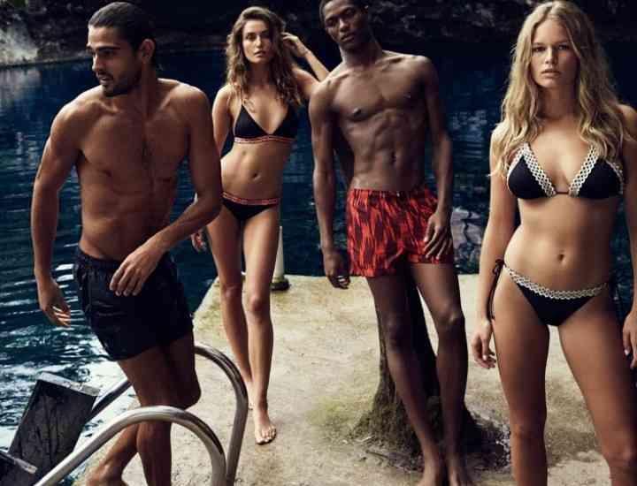 Campania de costume de baie H & M vară 2016