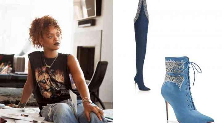Colecția de pantofi  Rihanna x  Manolo Blahnik 2016 disponibilă online