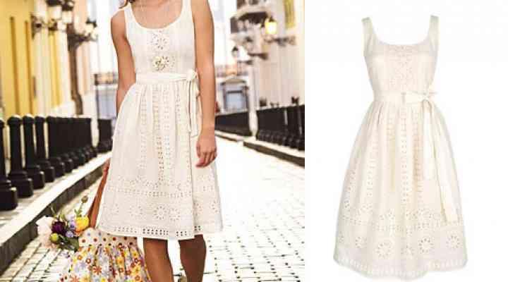 Rochii albe la moda în 2016