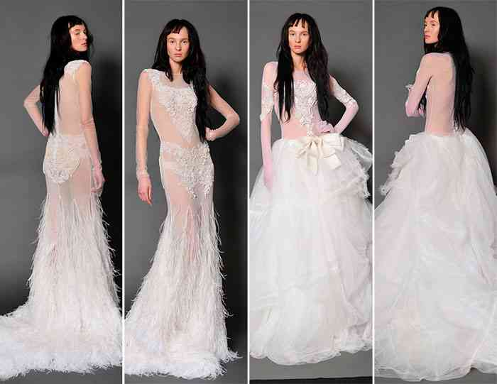 rochii de mireasa  Vera Wang