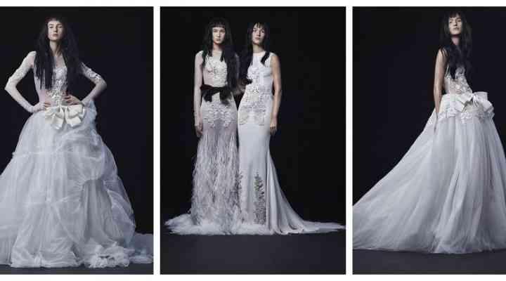 Colecția de rochii de mireasă Vera Wang toamna 2016