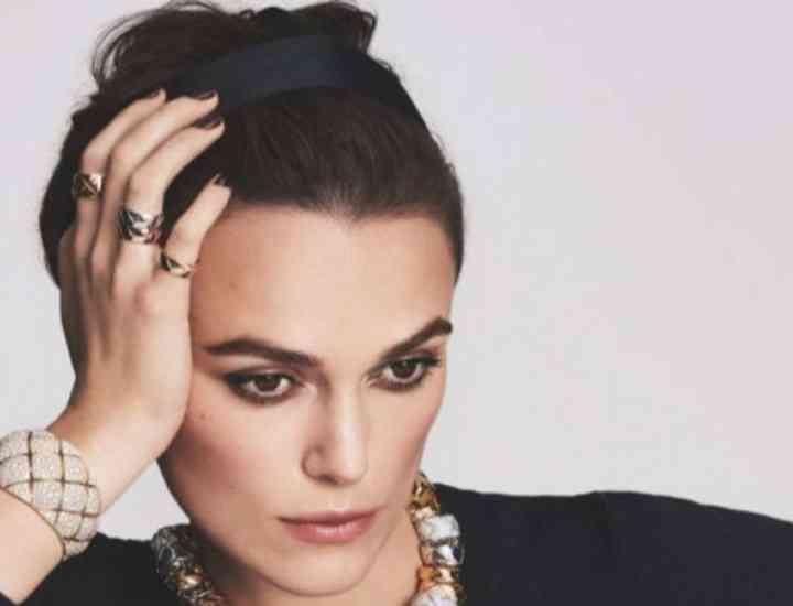 Keira Knightley imaginea colecției de bijuterii Chanel 2016