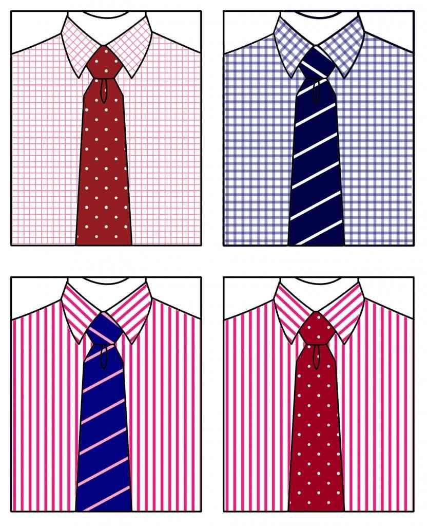 asortare camasa si cravata
