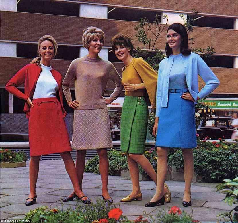 imbracaminte anii 60