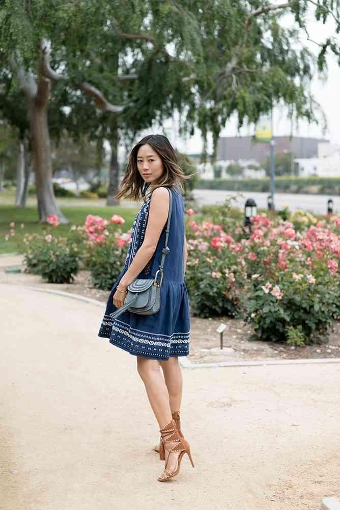 rochia denim