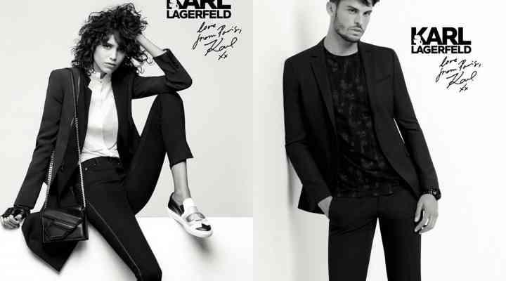 Campania Karl Lagerfeld pentru toamna 2016